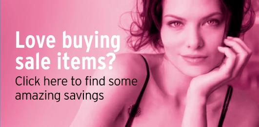 Huge savings on lingerie and swimwear