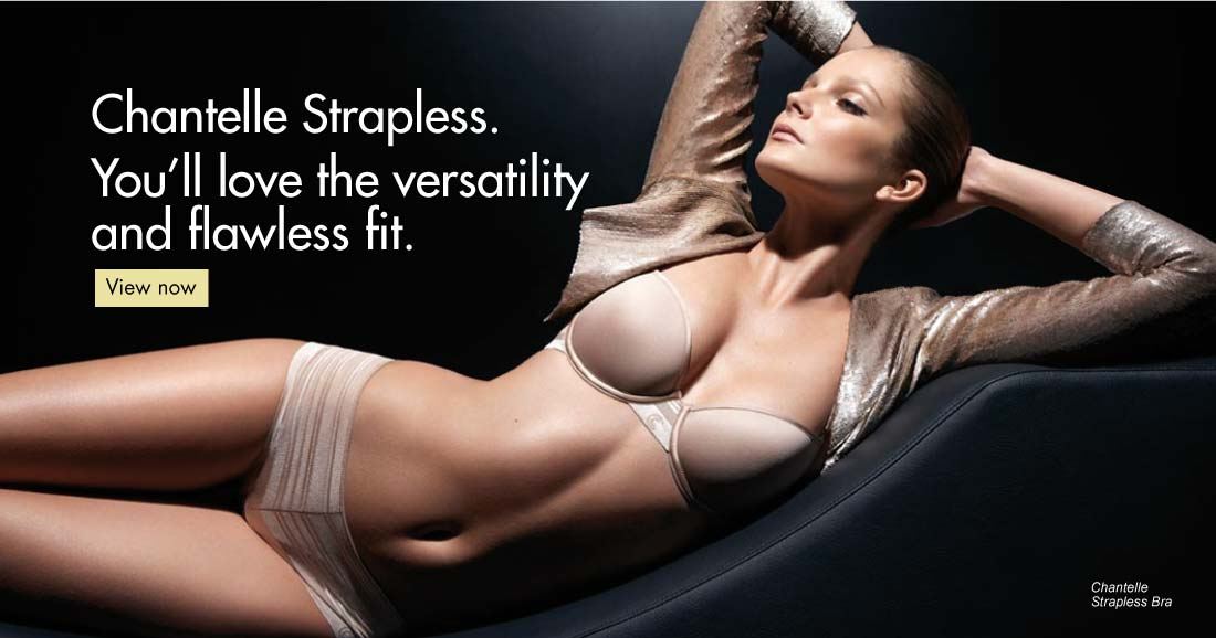 Chantelle strapless bra