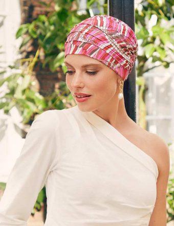 Christine Yoga Turban Print– Indian Summer