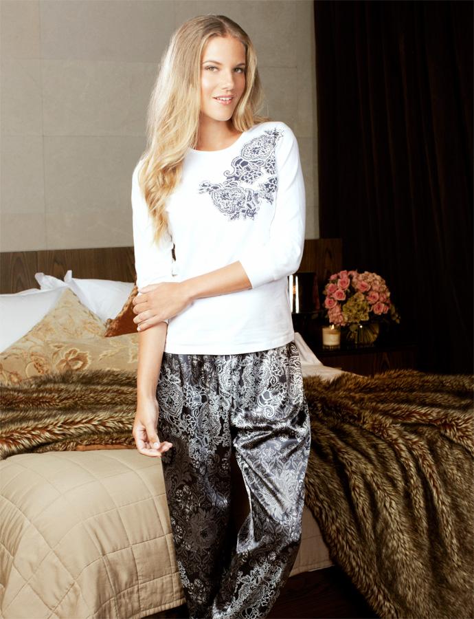 Kerry Satin Pyjama set