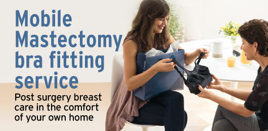 mobile mastectomy bra fitting service