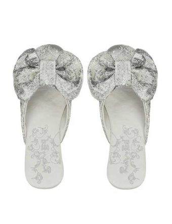 papinelle shimmer bow mule